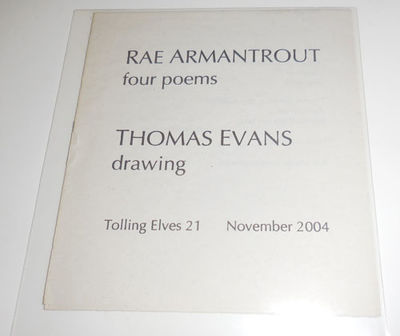 New York and London: Tolling Elves, 2004. First edition. Paperback. Fine. Small folded nearly square...