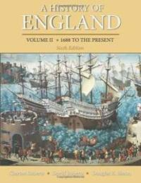 A History of England, Volume 2 by Roberts, Clayton - 2013-02-10