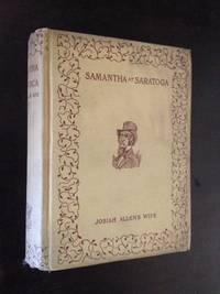 image of SAMANTHA AT SARATOGA OR, RACIN' AFTER FASHION.