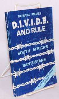 image of Divide & rule; South Africa's Bantustans. Revised and enlarged edition