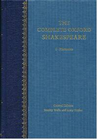 The Complete Oxford Shakespeare