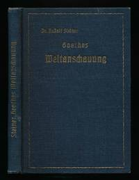 image of Goethes Weltanschauung. .