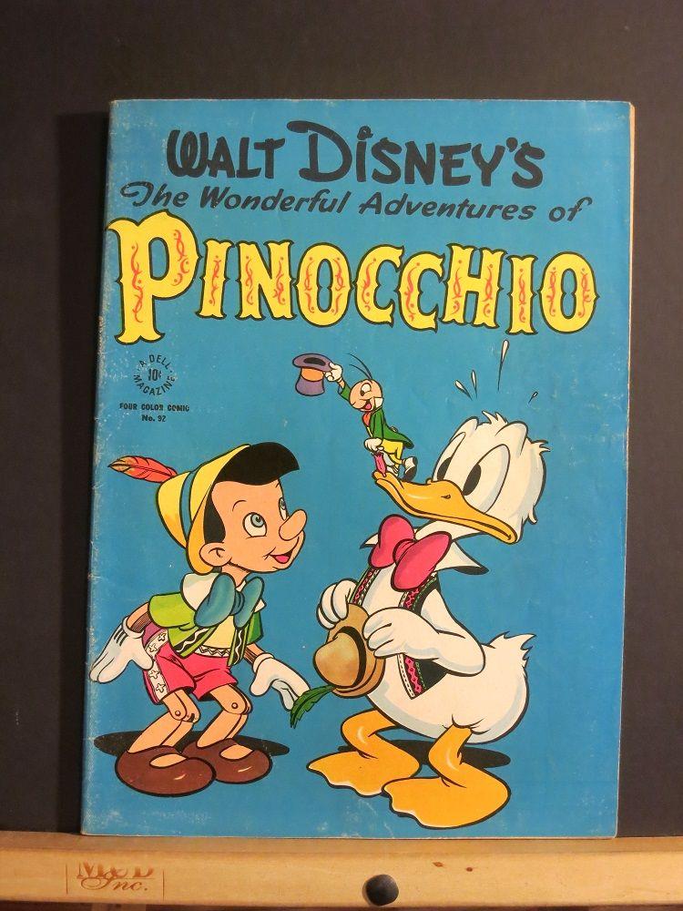 Walt Disney's The Wonderful Adventures of Pinocchio (Four ...