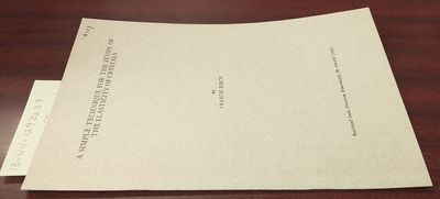 First Edition. Softcover. 8vo, paged 644-650, illustrated; VG; buff cover with black print, ink nota...