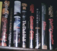 image of 8 Eight lot of STEPHEN KING horror thriller First Editions in dustjackets