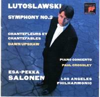 image of Fanfare for Los Angeles Philharmonic; Piano Concerto; Chantefleurs et Chantefables; Symphony No. 2 [COMPACT DISC]