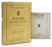Poems. With an Introduction by Siegfried Sassoon