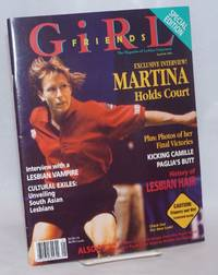 Girlfriends: the magazine of lesbian enjoyment; vol. 2, #1, Jan/Feb 1995; Martina Holds Court!