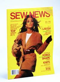 Sew News - The Fashion Magazine For People Who Sew, Number 60, September [Sept.] 1987 - Cindy Crawford Cover Photo