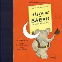 image of Histoire de Babar, le petit elephant (Livre + CD) (Livres-disques Contes & Histoires)
