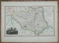 1839 Map of the County of Durham - taken from Pigot and Co's British Atlas Comprising the Counties of England (upon which are laid down all railways completed and in progress)