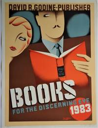 image of Books for the Discerning Eye 1983; David R. Godine - Publisher: Promotional Poster
