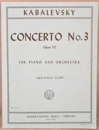 image of Concerto No. 3, Opus 50, For Piano and Orchestra; Two-piano score.