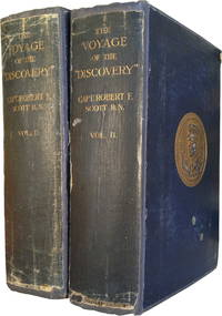 The Voyage of the Discovery (INSCRIBED BY ROBERT SCOTT TO FELLOW EXPEDITION MEMBER)