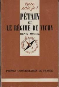 PETAIN ET LE REGIME DE Vichy