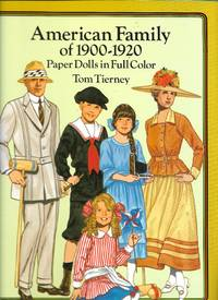 image of American Family of 1900-1920 Paper Dolls in Full Color