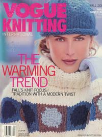 VOGUE KNITTING INTERNATIONAL : THE WARMING TREND: Fall 2000 (Vol 18, No 2)