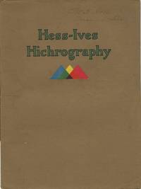 HESS-IVES HICHROGRAPHY