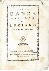Danza Dialogo di Luiano con Annotazioni con annotazioni.