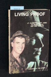 Living Proof by Clebe McClary (AUTHOR SIGNED) - 1987