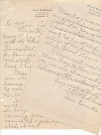image of Autograph Letter Signed