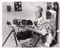 image of Original photograph of photographer Stuart Jewell at work on Beaver Valley, 1948