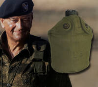"Canteen Owned by John Wayne –used in ""The Green Berets"""