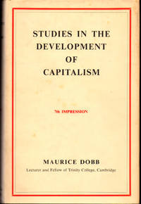 Studies in the Developmentof Capitalism by  Maurice Dobb - Hardcover - 1959 - from Kenneth Mallory Bookseller. ABAA (SKU: 29499)