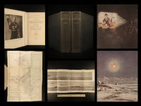 Scott's last expedition ... Vol. I. Being the journals of Captain R.F. Scott, R.N., C.V.O. Vol. II. Being the reports of the journals of the expedition, arranged by Leonard Huxley; with a preface by Sir Clements R. Markham ... With photogravure by Dr. E.A. Wilson, 18 coloured plates (16 from drawings by Dr. Wilson), 260 full page and smaller illustrations from photographs taken by Herbert C. Ponting and other members of the expedition, panoramas and maps...