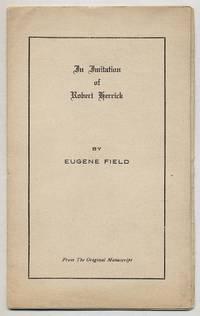 An Imitation of Robert Herrick