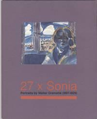 27 x Sonia - Portraits By Walter Gramatte (1897-1929)