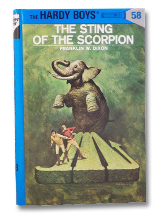 The Sting Of The Scorpion The Hardy Boys No 58 By Dixon Franklin
