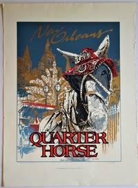 New Orleans Quarter Horse: Serigraph Poster