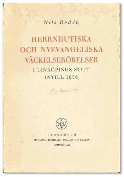 Stockholm: Svenska Kyrkans Diakonistyrelses Bokförlag, . First Edition. Paperback. Octavo (22cm.); ...