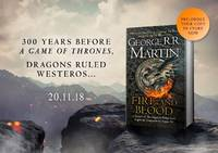 Fire and Blood SIGNED by GEORGE RR MARTIN PREORDER