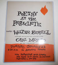 image of Poetry At The Paraclete (Poetry Reading Announcement Flyer)
