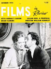 Films in Review: October 1974 LIV Ullmann and Erland Josephson (Cover)