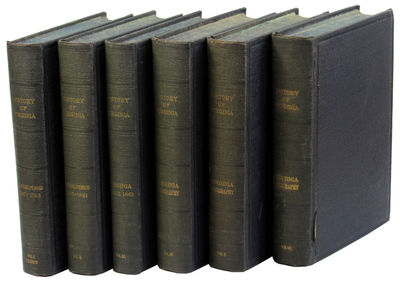 Chicago: American Historical Society, 1924. Hardcover. Very good. lxxi, 424pp; 542pp; 421pp; 580pp; ...