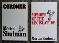 image of CORONER / MEMBER OF THE LEGISLATURE.  2 BOOKS.