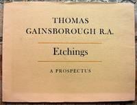 image of Eleven Original Prints By Thomas Gainsborough R.A. A Prospectus