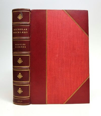 London: Chapman & Hall, 1839. First. hardcover. fine. Frontispiece portrait. by Maclise, and 39 plat...