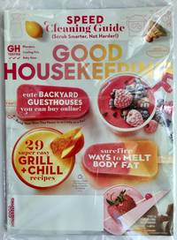 Good Housekeeping Magazine August 2019 | Speed Cleaning, Guesthouses, Melt Body Fat