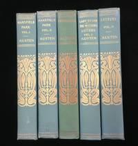 MANSFIELD PARK, PERSUASION, LETTERS (5 volumes)