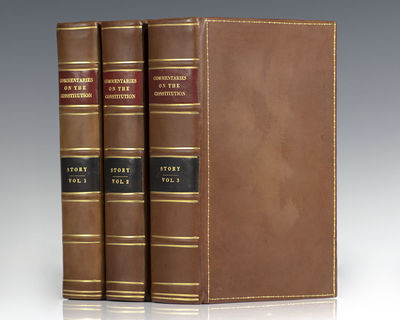 Boston: Hilliard, Gray, and Company, 1833. First edition of one of the most significant early studie...
