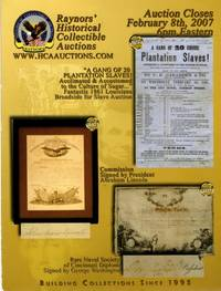 image of Raynors' Historical Collectible Auctions February 8th, 2007
