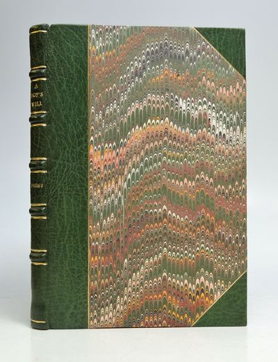 New York: Holt, 1915. First. hardcover. fine. 63pp. Slim 8vo, rebound in 3/4 green morocco, gilt-sta...