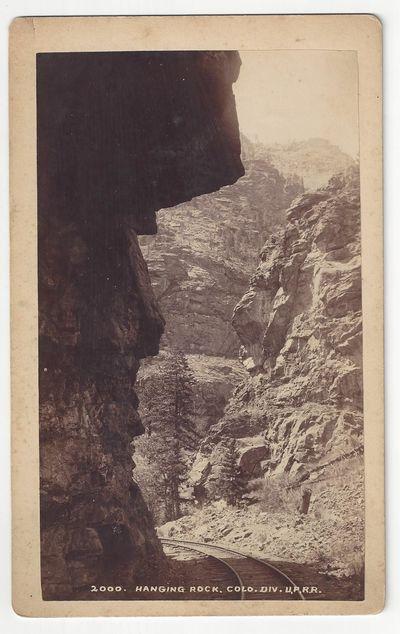 Denver: Barkalow Bros, 1895. Cabinet card Tan blank mount with 'Barkalow Bros. - Denver Colo.' stamp...