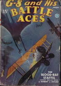 """G-8 AND HIS BATTLE ACES: January, Jan. 1936 (""""The Blood-Bat Staffel"""")"""