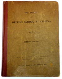 The Annual of the British School at Athens No. VII Session 1900-1901