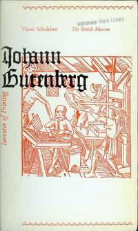 image of Johann Gutenberg: Inventor of Printing